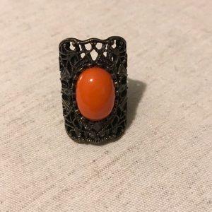 Boho chic ring